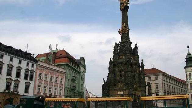 Majitel soupravy si zájem o svou novou atrakci pochvaluje. Při vyjížďkách po Olomouci má stále plno.