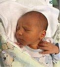 Robin Hrbata, Olomouc, narozen 16. června, míra 50 cm, váha 3200 g