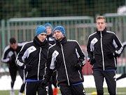 Fotbalisté Sigmy Olomouc se ve středu sešli k prvnímu tréninku v novém roce, aby odstartovali náročnou přípravu na jarní část Fotbalové národní ligy. Galeje jako za starých časů je prý však nečekají.