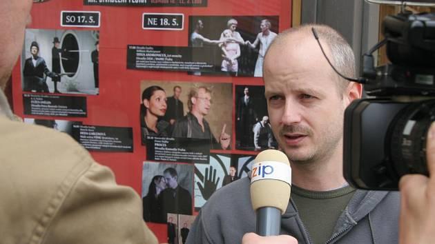 Ředitel festivalu Divadelní Flora Petr Nerušil