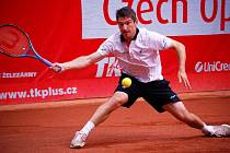 Olomoucký tenista Jan Hájek vyhrál loňský ročník prostějovského challengeru Czech Open.