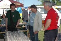 Setkání sběratelů pivních suvenýrů