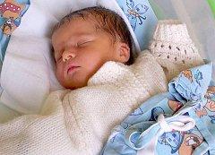 Lucas Vysloužil, Olomouc narozen 17. února v Olomouci míra 52 cm, váha 3890 g