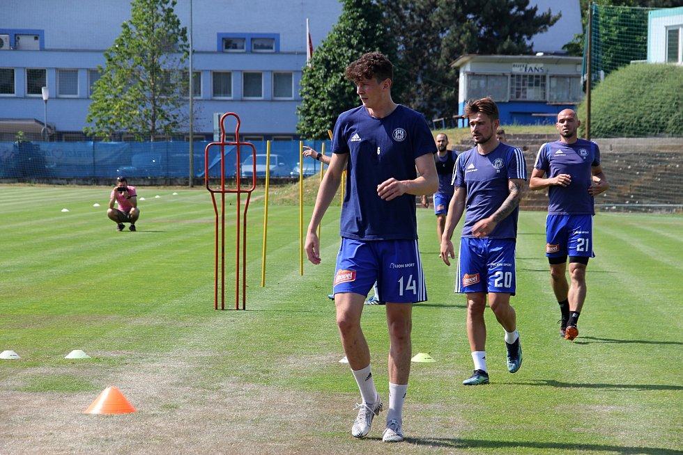 Fotbalová Sigma Olomouc zahájila přípravu na novou sezonu.Jan Fiala