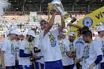 Sigma slaví zisk poháru za vítězství ve FNL