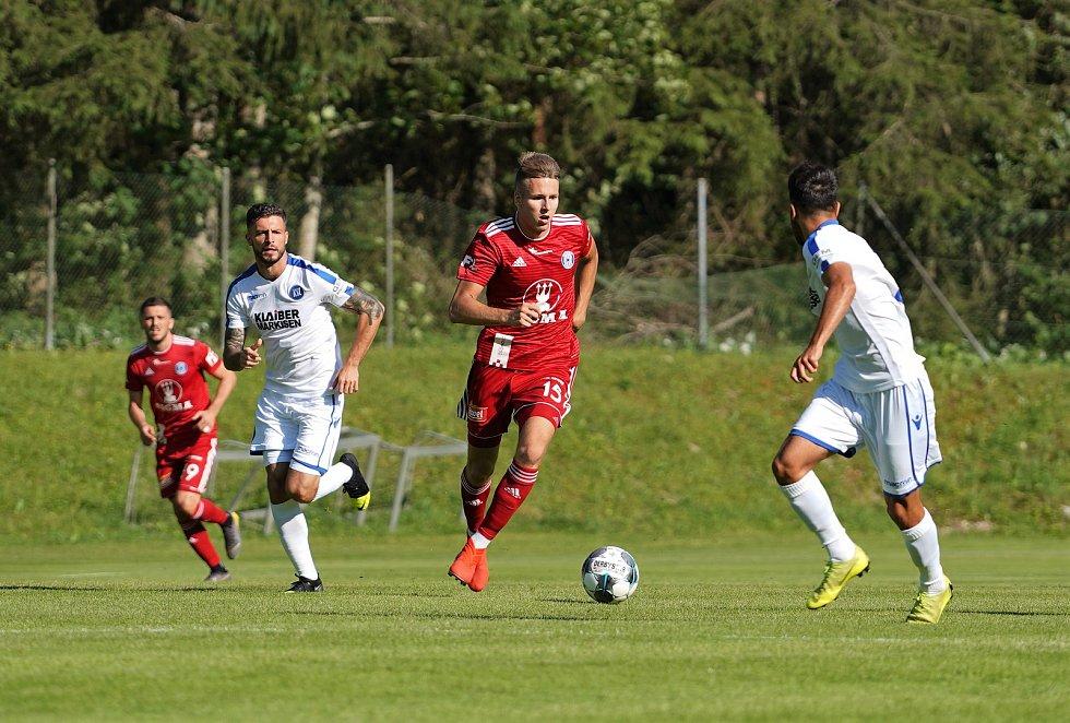 Sigma remizovala v přípravném utkání v rakouském Waidringu s německým Karlsruhe 1:1.Ondřej Zmrzlý