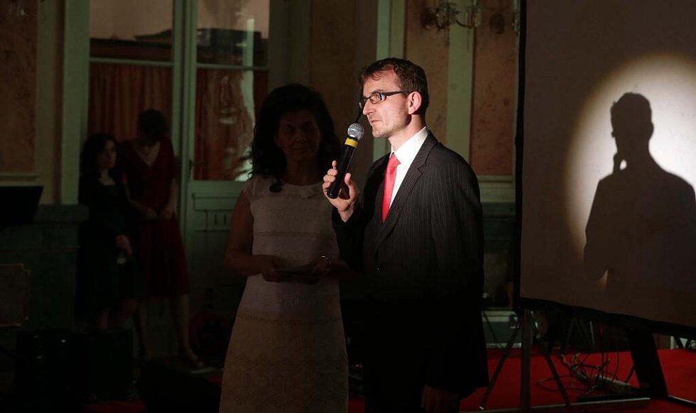 Předávání cen Křesadlo za ok 2016 v Arcibiskupském paláci v Olomouci