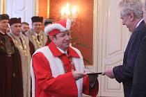 Prezident republiky Miloš Zeman, jmenoval v úterý 21. ledna 2014 na Pražském hradě dvanáct nových rektorů veřejných vysokých škol. Mimo jiné i nového rektora Univerzity Palackého Jaroslava Millera.