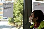 V Olomouci platí zákaz vycházení bez pokrývky obličeje