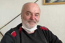 Michal Šefčík, předseda olomoucké organizace Českého rybářského svazu