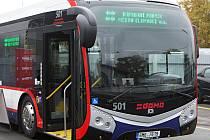 První olomoucký elektrobus.