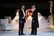 Inscenace Evžen Oněgin na prknech Moravského divadla Olomouc