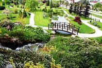 Arboretum v Přírodním ráji Horizont. Ilustrační foto