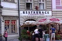 Restaurace U Červeného volka na Dolním náměstí