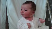 Karolína Studená, Uničov, narozena 9. červencemíra 48 cm, váha 3740 g