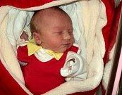 Magdaléna Nová, Ješov, narozena 24. ledna ve Šternberku, míra 50 cm, váha 3140 g
