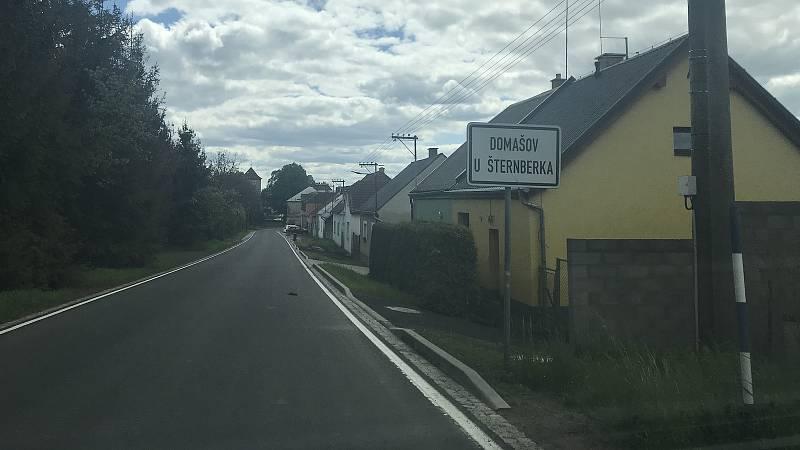 Navrhované hájené území lokality Bělkovice se nachází na katastru Domašova u Šternberka a Jívové. (12.května 2020)