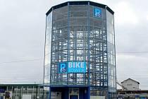 Cyklověž u přerovského nádraží