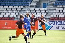 První zápasové vystoupení olomouckých fotbalistů pod novým trenérem Martinem Pulpitem skončilo porážkou s druholigovým Fulnekem.