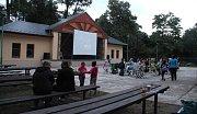 Letní kino v Náměšti na Hané