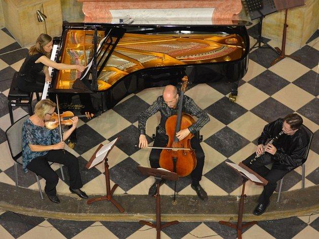 Österreichisches Ensemble für Neue Musik na festivalu MusicOlomouc