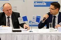 Debata s olomouckým hejtmanem Ladislavem Oklešťkem