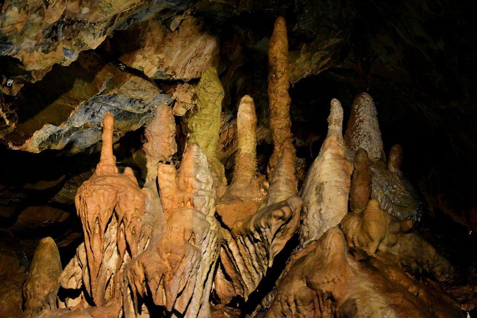Útroby Mladečských jeskyní