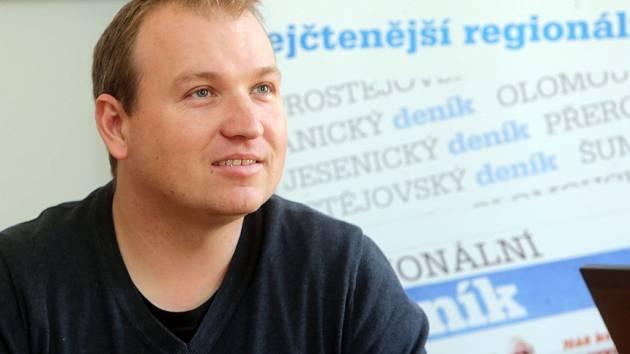 Myslivec Jiří Zbořil při on-line rozhovoru pro DENÍK