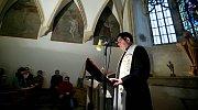 Čtyřiadvacetihodinové čtení bible v kapli Svatého Jeronýma na olomoucké radnici