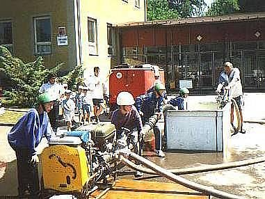 Dobrovolní hasiči v Řimicích