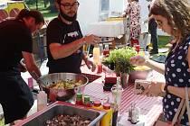 Food festival. Ilustrační foto