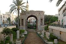 Oblouk Marka Aurelia v Tripolisu