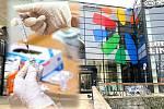 Očkování bez registrace bude možné v olomouckém OC Šantovka. Ilustrační koláž