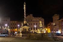 Noční Olomouc, 12. března 2021