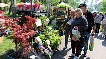 Zahradnické trhy na Floře v Olomouci