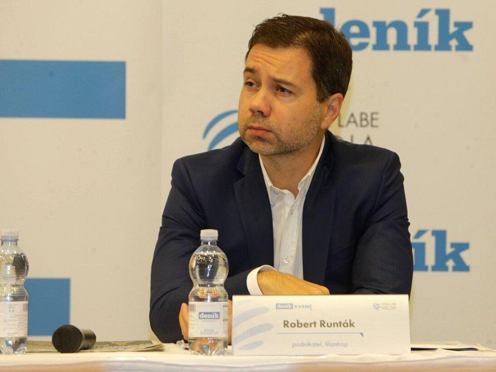 Robert Runták, podnikatel, filantrop