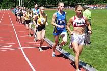 Grygarová v běhu na 5.000 m