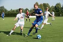 Sigma Olomouc porazila v přípravném utkání ve Slatinicích Hradec Králové 1:0.Vít Beneš