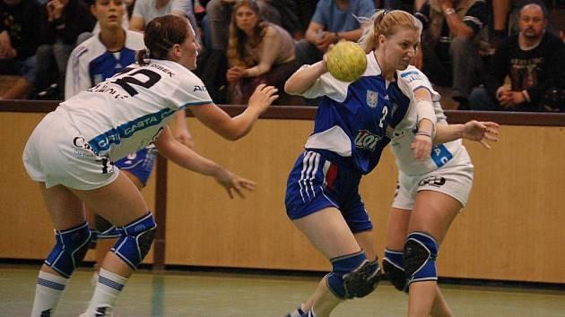 Olomoucké házenkářky dokázaly využít výhody domácího prostředí a oba zápasy o třetí místo v interlize nad Pískem vyhrály.