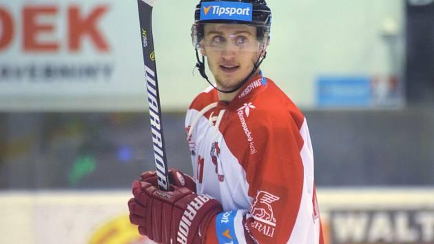 Ludvík Rutar, obránce HC Olomouc.