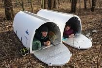 Iglou - nouzový přístřešek pro lidi bez domova