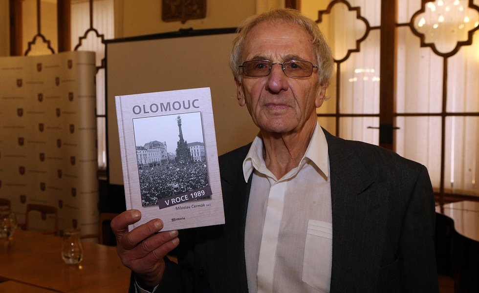 Miloslav Čermák - Olomouc v roce 1989