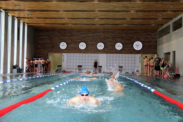 Plavecký kemp. Ilustrační foto.