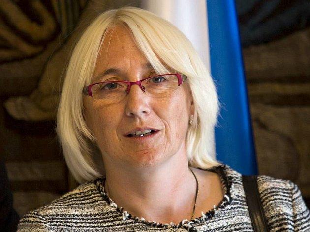 Europoslankyně za ČSSD Olga Sehnalová