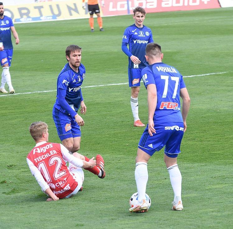 SK Sigma Olomouc - FK Pardubice 0:1 (0:0)David Houska, Jaroslav Mihalík