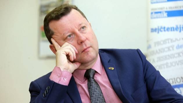Olomoucký primátor Antonín Staněk (ČSSD)