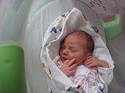 Sofie Reichová, Lašťany, narozena 24. července v Olomouci, míra 49 cm, váha 3030 g.