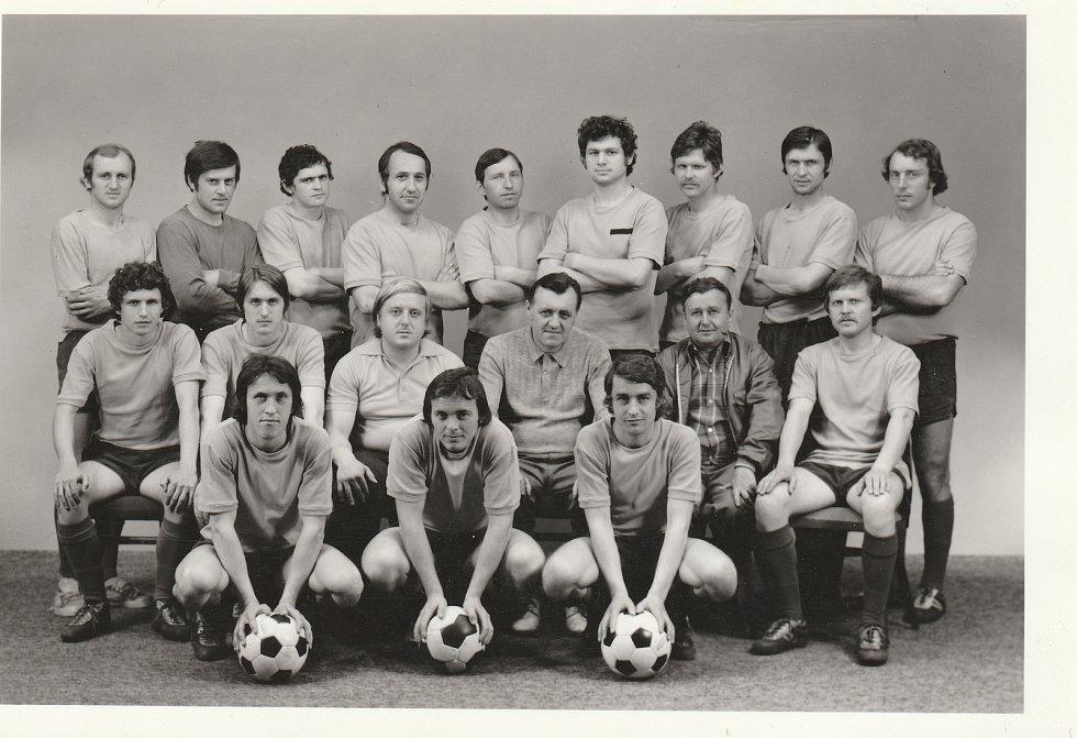Družstvo mužů 1977.