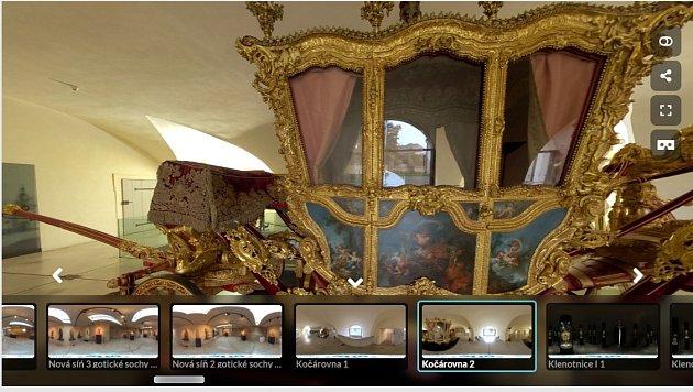 Virtuální prohlídka muzea