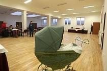 Nový společenský sál a obecní úřad v Hlušovicích